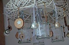 Adventskranz 45 cm Hängekranz  Weihnachten von Majalino auf DaWanda.com