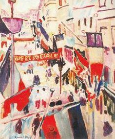 juillet 14 - (Raoul Dufy)