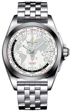Breitling Galactic Unitime SleekT Watch - WB3510U0/A777/375A