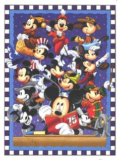 75 years of Mickey but NOW MORE almost 85 ;) Well, when it's November 18th