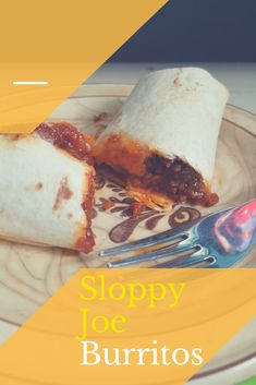 Have left over Sloppy Joe meat?  Need a quick lunch for the kids…or even yourself?!  Try these amazing Sloppy Joe Burritos made with the toaster oven (or you could use the regular oven)!  This…