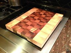 Learn how to make an end grain cutting board any chef would be proud to own.