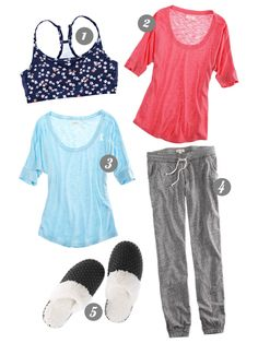 comfy outfit for right after baby