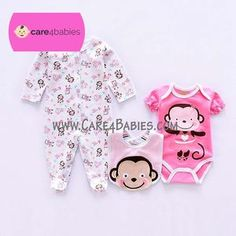 $20.00	Infant Baby Girl Newborn Long Sleeve Rompers Bodysuit Bib Pink Monkey Design	To Buy PM Us or Visit Us At https://www.care4babies.com/products/infant-baby-girl-newborn-long-sleeve-rompers-bodysuit-bib-pink-monkey-design	#infantbabygirlnewbornlongsleeverompersbodysuitbibpinkmonkeydesign #babyclothingset #clothingnewbornset #infantclothingsets