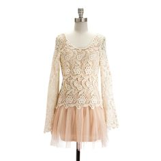 lace and a small tutu <3  chloé collection