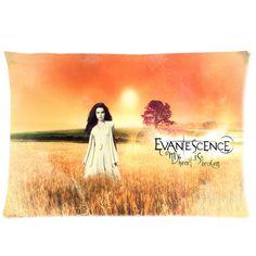 Evanescence Amy Lee 20'' x 30'' Pilow Case Two by CornucopiaStore, €20.50