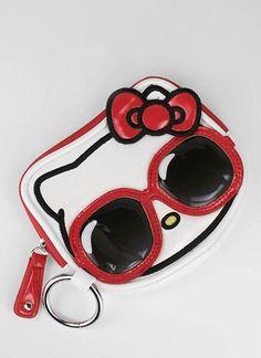 hello kitty sunglasses coin bag