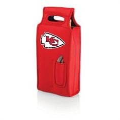 Kansas City Chiefs Two-Bottle Wine Tote