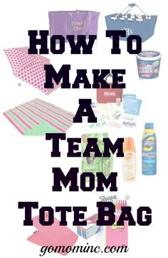 No matter if you are a team mom or a busy sports mom always on the go, its time to get that team mom tote bag organized so you have what you need no matter where you are. Designed to stay in the ba…