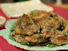 Try this recipe for Baked Chicken Fingers from Kimberlys Simply Southern featured on GAC!