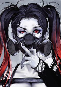 Art Discover Other Anime/ Manga Stuff Arte Cyberpunk Cyberpunk Anime Gas Mask Art Masks Art Gas Mask Drawing Art Anime Fille Anime Art Girl Dark Anime Girl Anime Girls Arte Cyberpunk, Cyberpunk Anime, Gas Mask Art, Masks Art, Gas Mask Drawing, Gas Masks, Anime Art Girl, Anime Girls, Anime Negra