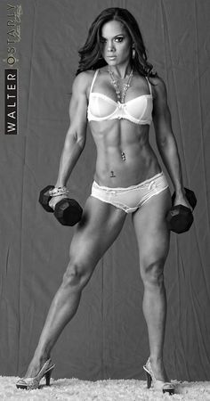 Vanessa Tib. She is absolutely the definition of Strong & Beautiful.