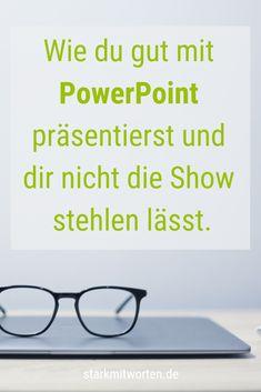 PowerPoint ist nur eine Datei - nicht deine Präsentation! Tipps, wie du PowerPoint einsetzen kannst, ohne dir die Show vom Beamer stehlen zu lassen. Simple Powerpoint Templates, Professional Powerpoint Templates, Creative Powerpoint, Keynote Template, Brochure Template, Ansoff Matrix, E Learning, Umbrella Photography, Business Powerpoint Presentation