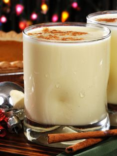Delicious Homemade Eggnog– There's No Raw Eggs To Worry About In This Recipe!