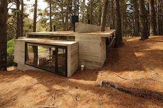 Architektur: Ein schickes und gemütliches Haus im Wald