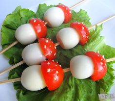 """How to cook a holiday snack of tomatoes and quail eggs. This is very simple and quickly made snack – """"mushrooms"""" from quail eggs and Cherry tomatoes is capable to decorate table during occasional dinner and holiday meal."""