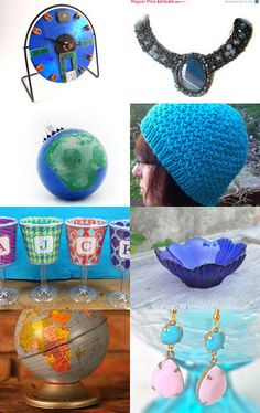Round We Go by Jo Stamatakis on Etsy--Pinned with TreasuryPin.com