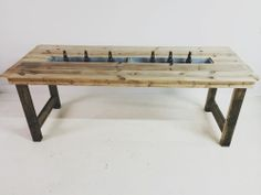 Trough Table
