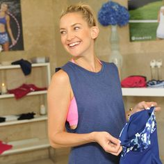 Pin for Later: Kate Hudson's Pilates Physique Is Front and Center