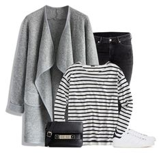 """""""Grey shades"""" by lenaick ❤ liked on Polyvore featuring H&M, Chicwish, J.Crew, adidas Originals, Proenza Schouler, women's clothing, women's fashion, women, female and woman"""