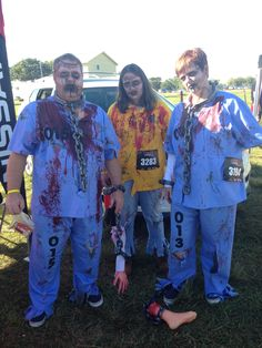 Zombie Charge 2014. A family affair!