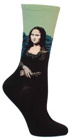 Mona Lisa Socks from The Sock Drawer