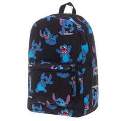 Disney Lilo And Stitch Sublimated Backpack (Black)