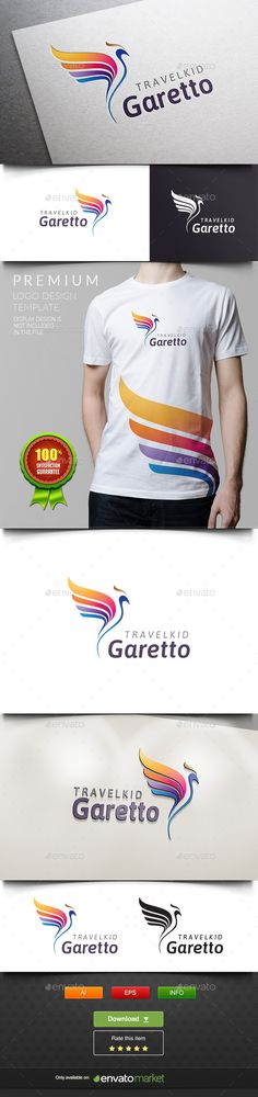 Garetto  Parrot Bird — Vector EPS #luxury #parrot • Available here → https://graphicriver.net/item/garetto-parrot-bird/11937832?ref=pxcr