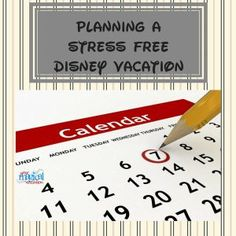 Creating a Stress Free Disney World Vacation - Planning a Disney vacation can be a daunting task! With advance planning and these tips, you can have the best Disney vacation ever!