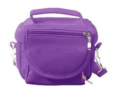 Modern-Tech Purple Nintendo DS Lite/DSi/DSi XL/3DS Travel Bag Carry Case (5055350023297) Comes With a Matching Shoulder Strap Soft Inner Lining to Protect your 3DS, 3DS XL, DSi, DSi XL, DS or DS Lite Store Console, Charger and Games Made from Water resistant material