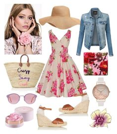 """""""Summer fashion"""" by magdalena-lugumerski on Polyvore featuring Old Navy, L.K.Bennett, LE3NO, Jo Malone, RetroSuperFuture and Olivia Burton"""