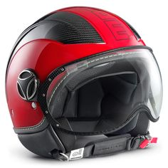 Momo Design Avio Carbon Red
