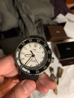 IWC Aquatimer 2000 44mm White Automatic Steel Men's Watch IW356809 Iwc, Watches For Men, Steel, Accessories, Ebay, Men's Watches, Steel Grades, Iron, Jewelry Accessories