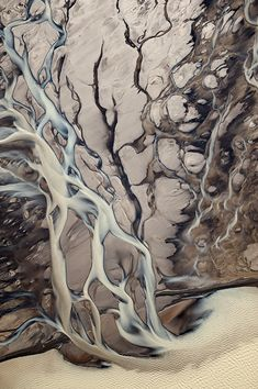 Beautiful Photo of an Icelandic River Delta