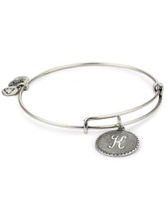 This trendy initial bracelet is American-made—and a total steal! $24, Alex and Ani.