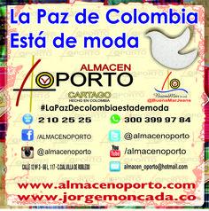 #Pymes #Lapazestademoda comprometidas con la paz y reconciliación de los Colombianos