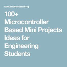 Mini Projects for CSE | Latest CSE mini Projects Topics | anxirex