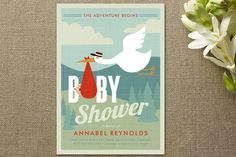 Adventurer Baby Shower Invitations by Susan Asbill at minted.com