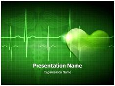 medical cardiogram abstract powerpoint presentation template is, Modern powerpoint
