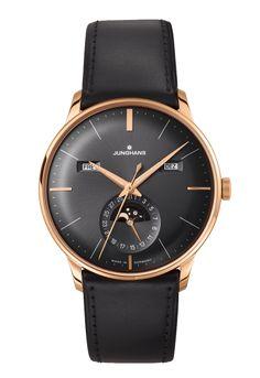 n° de référence 027/7504.00 - La collection Meister est depuis 1936 l´ image même de l´ horlogerie classique chez Junghans. C´est en perpétuant cette tradition d´ expertise dans l´ horlogerie mécanique que les montres actuelles Meister voient le jour.