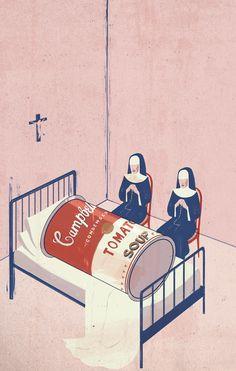 TheDeath of Postmodernism, Emiliano Ponzi  (2011)