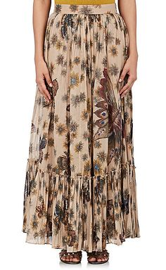 Valentino Women's Floral- & Butterfly-Print Cotton Maxi Skirt  https://api.shopstyle.com/action/apiVisitRetailer?id=617975894&pid=uid2500-37484350-28