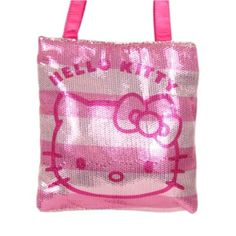 Hello Kitty Sequins Tote - http://handbagscouture.net/brands/hello-kitty/hello-kitty-sequins-tote/