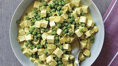 Curried Peas and Tofu - Recipe - FineCooking