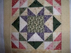 Distracted Quilter star block