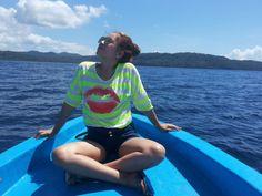 On my yacth - lihaga island
