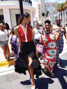 """Miami Sound Machine"" Kailey Hsu for ELLE Mexico August 2015"