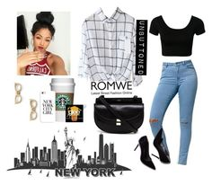 185->New York by dimibra on Polyvore featuring Bullhead Denim Co., Chloé, Kate Spade and Casetify