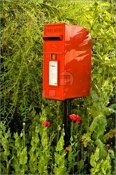 I want an old school mailbox