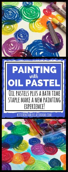 Oil Pastel Painting -How to Blend Oil Pastels If you've got a list of supplies to keep available for your kids oil pastels should make the cut. I've used oil pastels for many things but this is new! Oil Pastel Paintings, Oil Pastel Art, Oil Pastel Drawings, Oil Pastels, Horse Paintings, Art Drawings, Teaching Colors, Teaching Art, Cool Art Projects